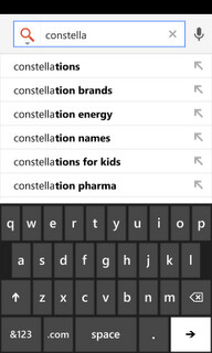 Google releases Search App for Windows Phone