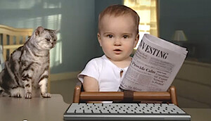 Could Google get better investing advice from this baby?