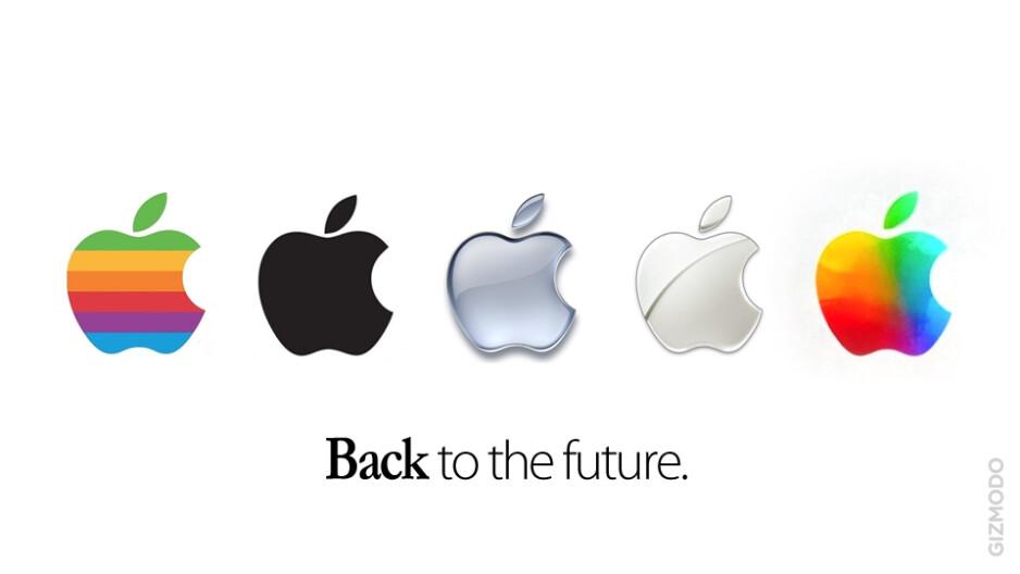 Apple's new logo: vivid, colorful, still bitten?