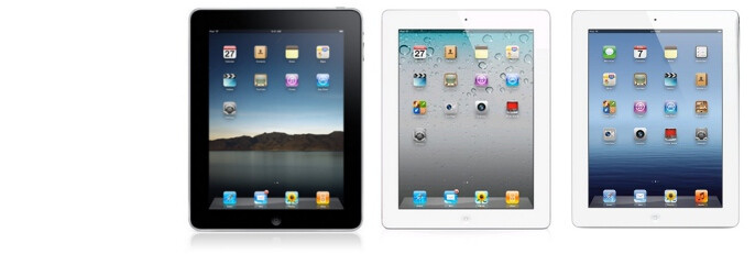 The Apple iPad evolution: iPad 3 vs iPad 2 vs iPad