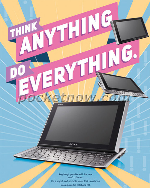 Sony prepping Windows 8 tablet slider?