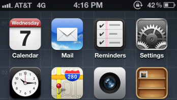 The AT&T iPhone 4S now calls itself a 4G device