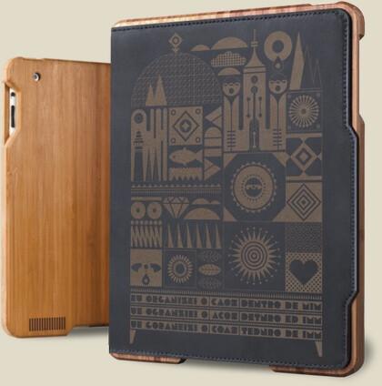 Grove's bamboo iPad 3 case - Grove, Belkin announce new iPad cases