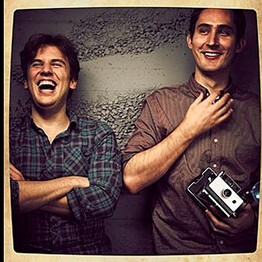 Instagram's founders Kevin Systrom (L) and Mike Krieger (R)