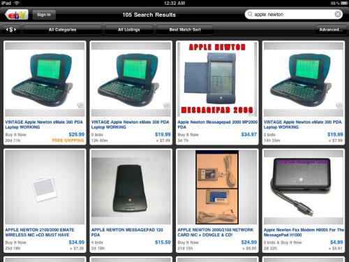 eBay for iPad