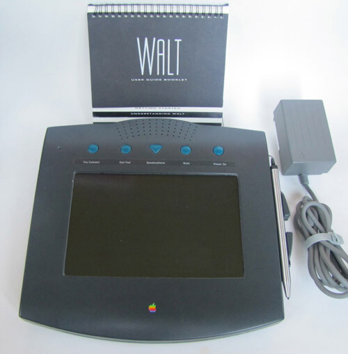 WALT was a add-on device for the traditional landline phone - 1993 Apple WALT protoype hits eBay