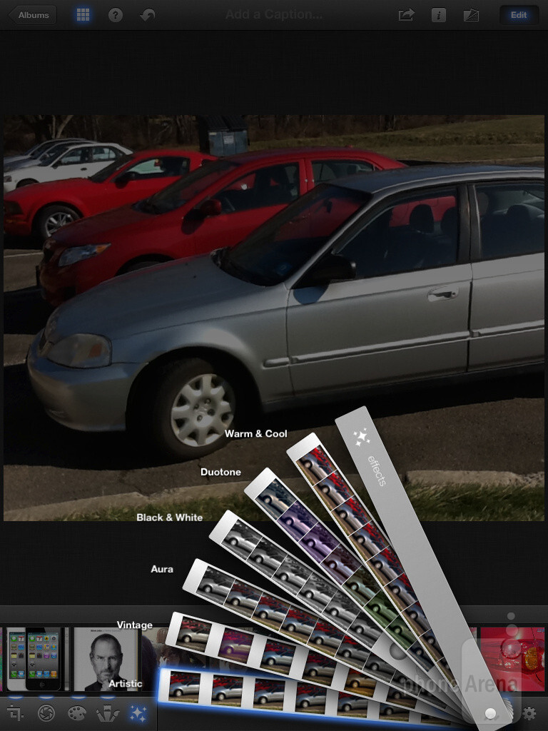 Effects - iPhoto for iPad Review