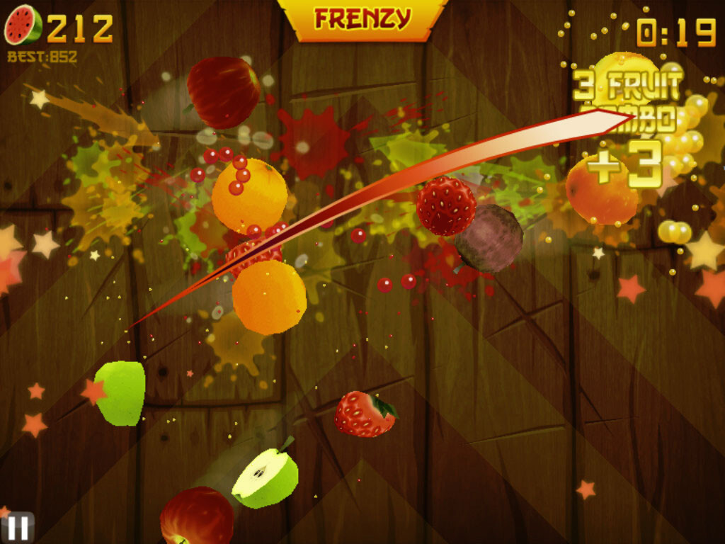 Ninja fruit 2 - 1 2