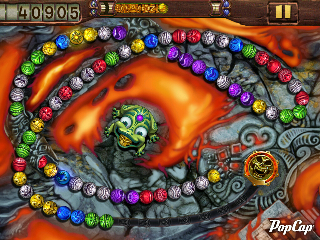 Color zuma game - Zuma S Revenge Hd Is Another Fast Paced Puzzle Offering By Popcap If You Haven T Played One Of Their Zuma Games Yet The Whole Thing Is About Shooting