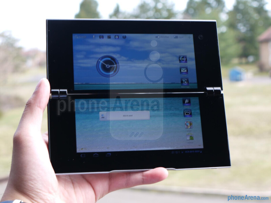 Sony Tablet P unboxing