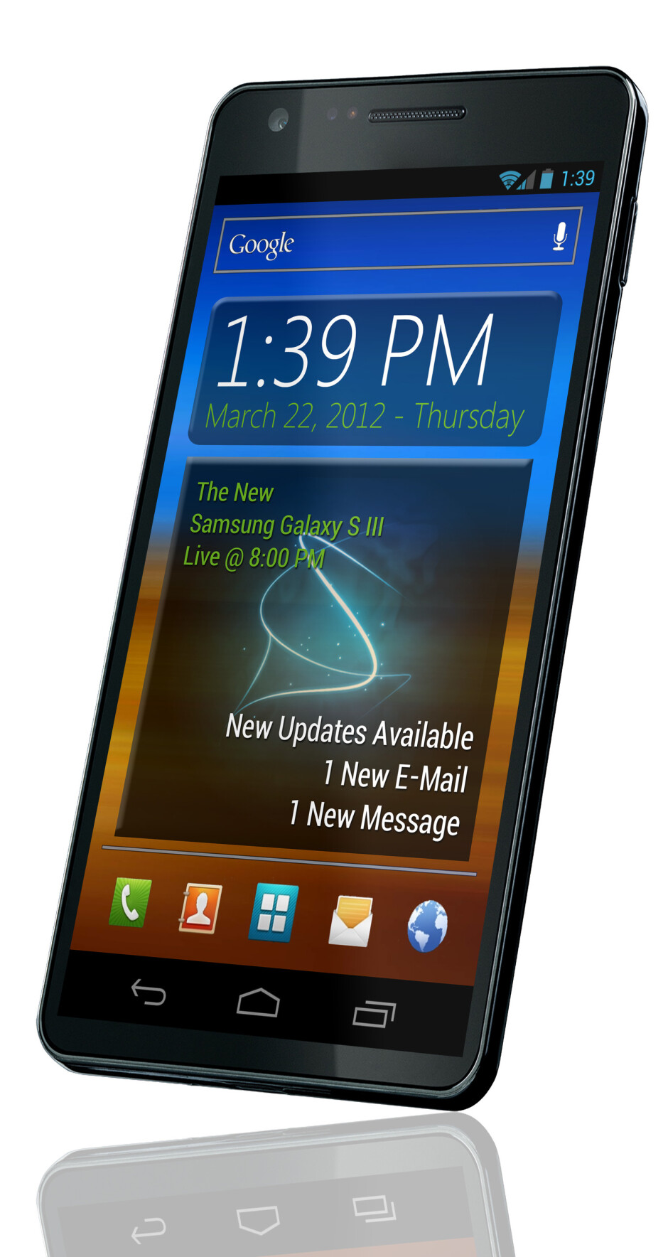 Is this the Samsung Galaxy S III? - Is this the final design of the Samsung Galaxy S III? (hint: probably not)