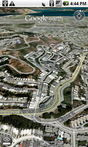Some of what you can expect to see using Google Earth
