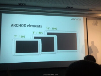 Archos teases new G10xs tablet line
