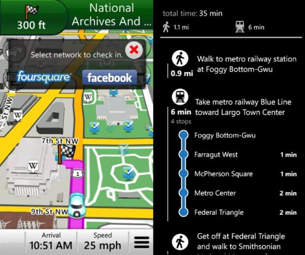 Garmin StreetPilot Windows Phone app gets updated with new features and social network integration