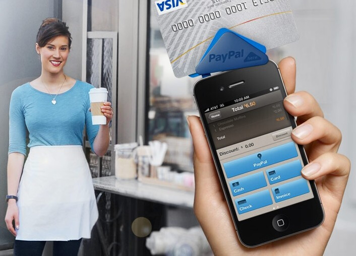 PayPal Here goes after Square with a credit card dongle for iPhone and Android, takes checks too