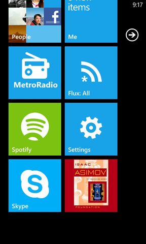 Lots of screens for the upcoming Audible app on Windows Phone
