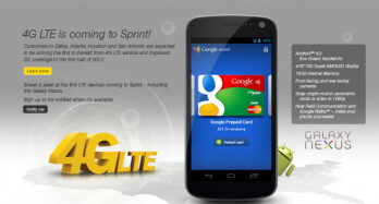 A Sprint insider alleges that the Samsung GALAXY Nexus will launch via Sprint on April 15th