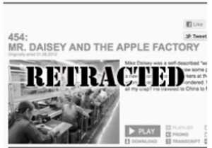 This American Life has retracted Daisey's report