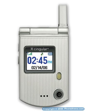 Smallest camera flip GSM phone on sale by Cingular