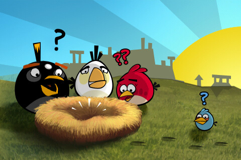 The free version of Angry Birds can waste battery life - Study says free Android apps can zap your battery life