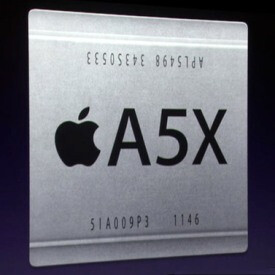 The Apple A5X processor found in the new iPad