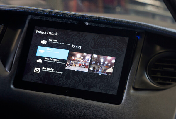 Windows Phone controls a 2012 Ford Mustang tricked out by West Coast Customs