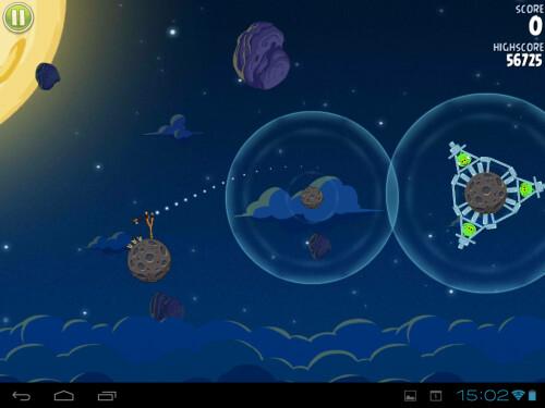 Angry Birds Space Screenshots