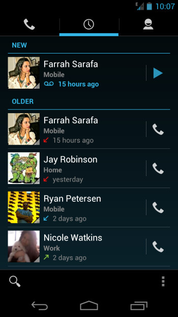 Google Voice updated for better ICS integration