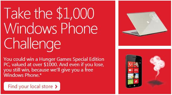 Can your phone beat a Windows Phone? - #SmokedByWindowsPhone Challenge at Microsoft Store can net you free Windows Phone unit