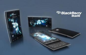 Concept design for first BB 10 phone
