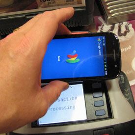 Google Wallet at work