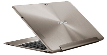 The Asus Transformer Prime, transformed into a laptop
