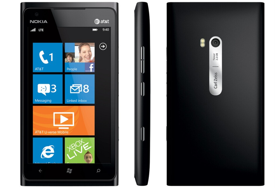 The Nokia Lumia 900 - AT&T says its launch of Nokia Lumia 900 to be its biggest ever, even surpassing the Apple iPhone's release