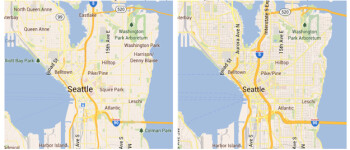 Google Maps updated with several improvements