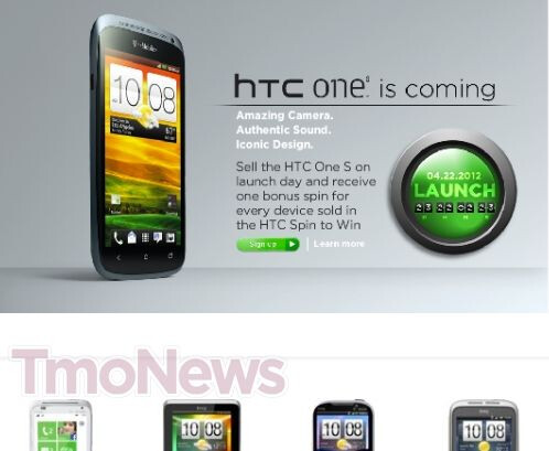 HTC One S may launch in late April on T-Mobile