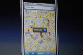 Google Maps on the original iPhone