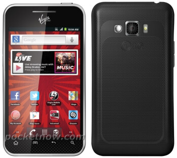 The LG Optimus Elite for Sprint and Virgin Mobile