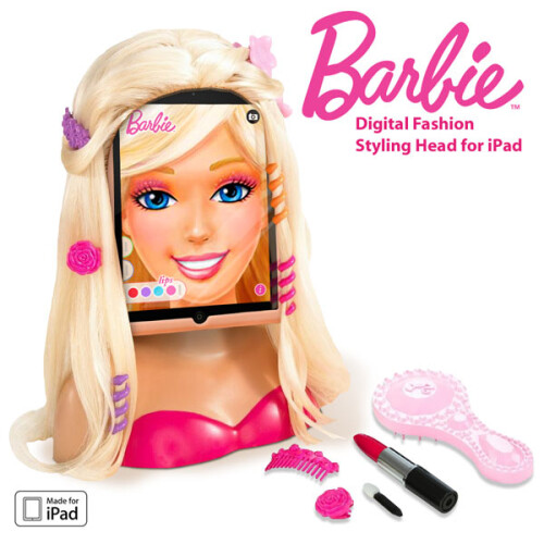 Barbie™ Digital Fashion Styling Head for iPad