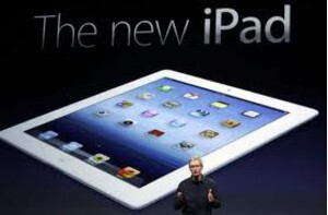 New Apple iPad being announced