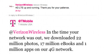 T-Mobile and Verizon have had a virtual battle