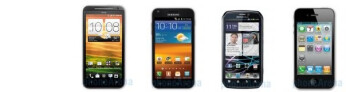 EVO 4G LTE vs Epic 4G Touch vs Photon 4G vs iPhone 4S: specs comparison