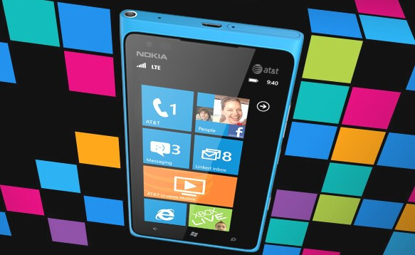The Nokia Lumia 900