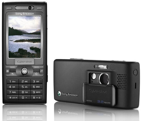 Sony Ericsson K790i - 2006, the first Cyber shot phone