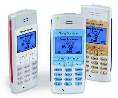 sony ericsson flip phone 2005. sony ericsson t100 - 2002, a cheap blue phone flip 2005