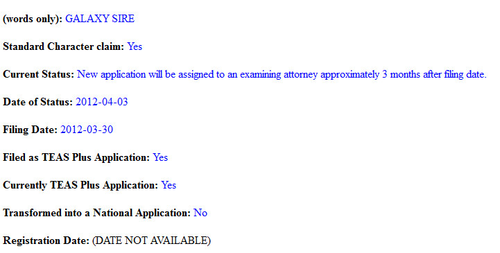 Samsung has filed to trademark Galaxy Sire and two other names - Samsung files to trademark three new names