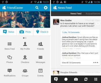 Alternate Facebook app Friendcaster gets major update