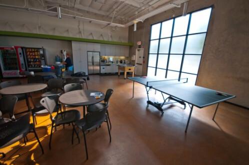 Apple HQ recreation room