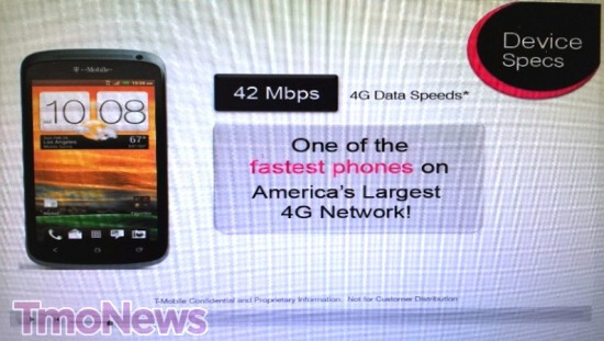 T-Mobile reps are training for the HTC One S - HTC One S to launch via T-Mobile on April 25th according to training slides