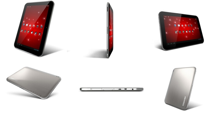 Toshiba Excite 10 - Toshiba Excite tablet trio unveiled, 13-inch Tegra 3 beast in tow