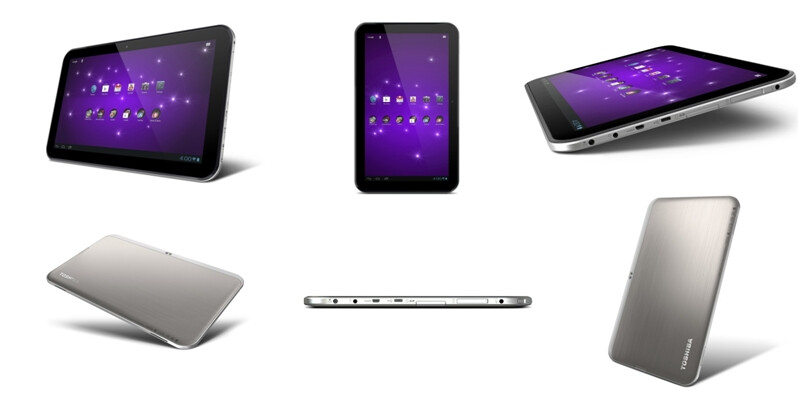 Toshiba Excite 13 - Toshiba Excite tablet trio unveiled, 13-inch Tegra 3 beast in tow